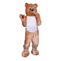 Teddy Bear Adult Deluxe Costume