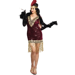 Sophisticated Lady Sexy Plus Size Adult Costume