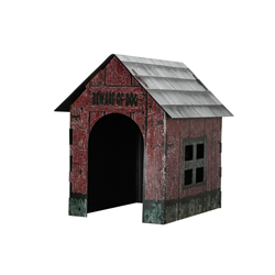 Dog House Halloween Decoration