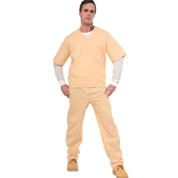 Beige Prisoner Convict Adult Costume