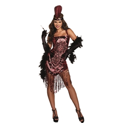 Gatsby Girl Flapper Adult Costume