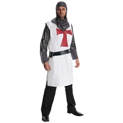 Knight to Remember Crusader Knights Templar Adult Costume