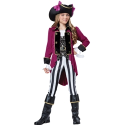 Fashion Pirate Tween Costume