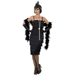 Long Flapper Adult Costume