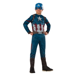The Avengers: Civil War Captain America Kids Costume