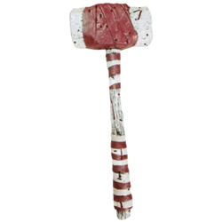 Bloody Clown Hammer Prop Weapon