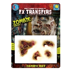 Special Effects Makeup Zombie Rot 3D Transfer | The Costumer