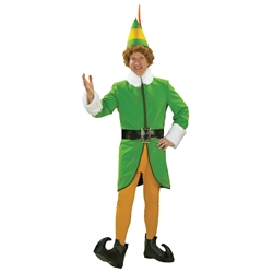 Deluxe Buddy the Elf Adult Costume