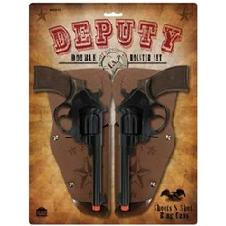 Deputy Double Gun and Holster Set