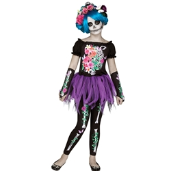 Beautiful Bones Kids Costume
