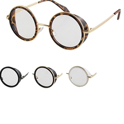 Clear Steampunk Glasses
