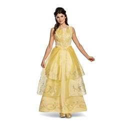 Belle Ball Gown Deluxe Adult Costume