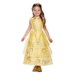 Belle Ball Gown Deluxe Kids Costume