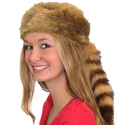 Blonde Coonskin Hat