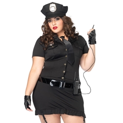 Dirty Cop Sexy Plus Size Adult Costume