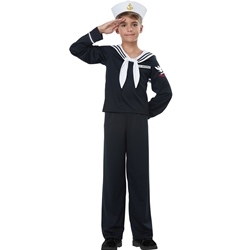Navy / Sailor Boy Kids Costume