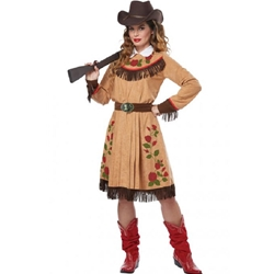Annie Oakley Frontier Lady Adult Costume