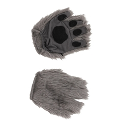 Gray Fingerless Paws