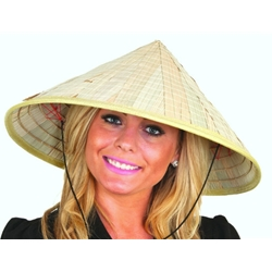 Bamboo Coolie Hat