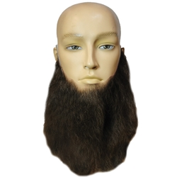 Eight Inch Wavy Full Face Beard