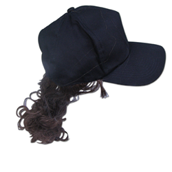 Bill Ray Hat With Ponytail