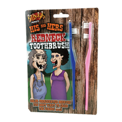 His & Hers Redneck Toothbrush Set