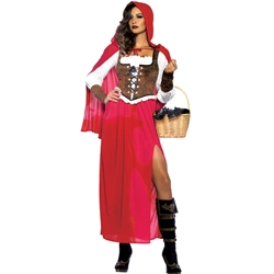 Classic Red Riding Hood Adult Costume