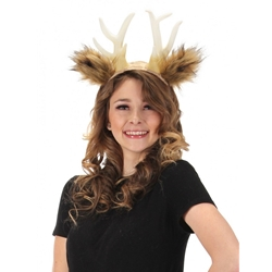 Deer Antlers with Ears