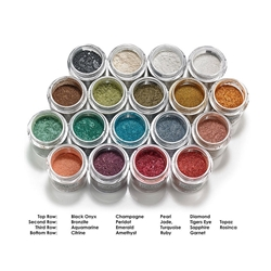Precious Gem Powders by Mehron