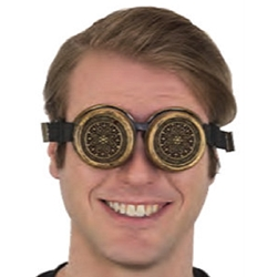 Gold Steampunk Goggles