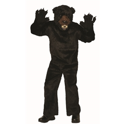 Black Bear Adult Costume