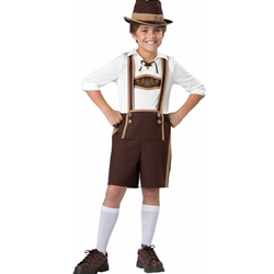 Bavarian Guy Lederhosen Kids Costume