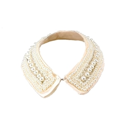 Pearl Fabric Collar