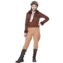 Amelia Earhart / Aviator Child Costume