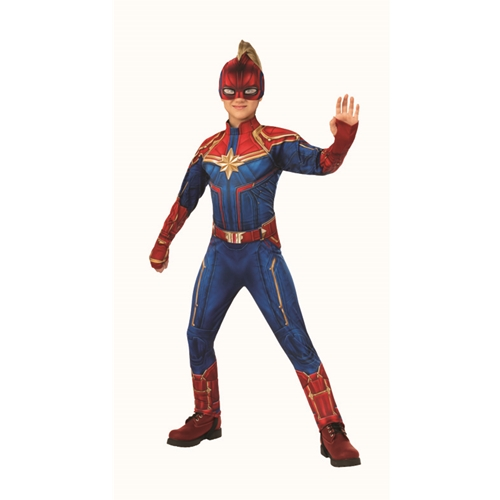 Captain Marvel Deluxe Hero Suit Child Costume