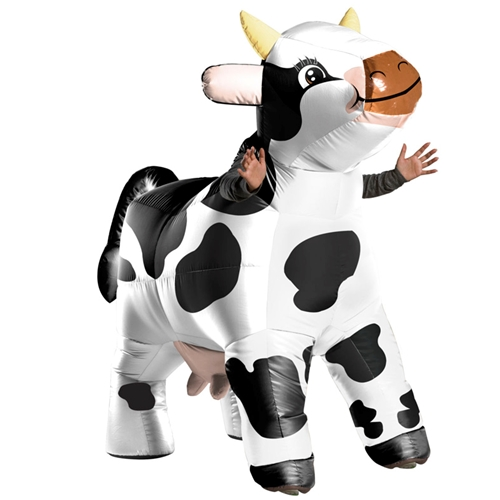 Funflatable Moo Moo the Cow Costume