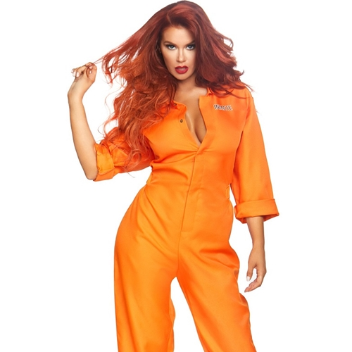 Prison Jumpsuit Sexy Adult Costume