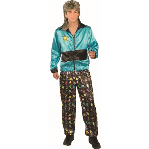 80's Track Suit - Male Adult Costume