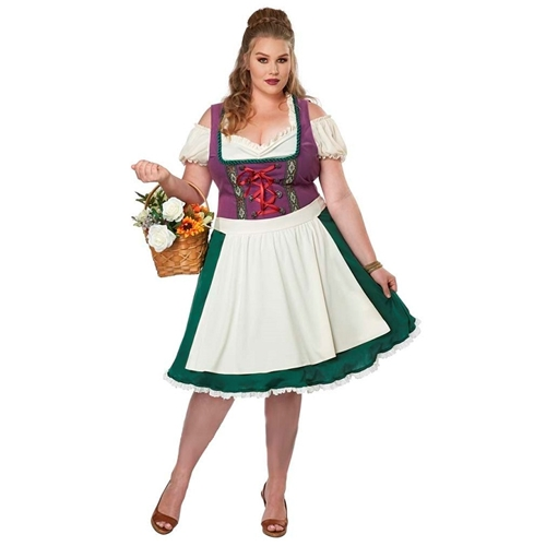 Bavarian Beer Maid Plus Size Adult Costume