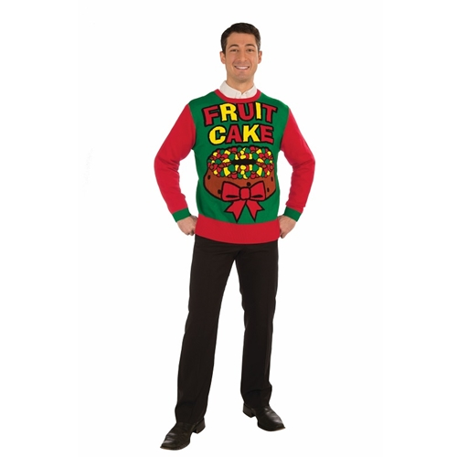 Fruitcake Christmas Sweater