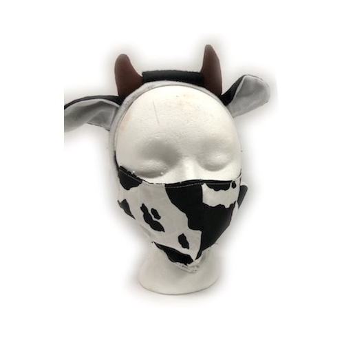 Cow Face Mask Kit Adult, Youth, or Toddler
