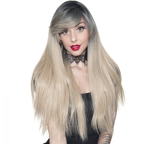 Bella Dark Root Wig