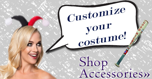 Customize your Halloween costume with accessories