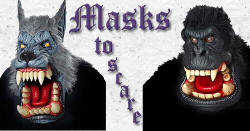 Shop Scary and Spooky Halloween Masks