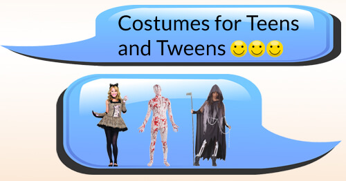 Shop Teen and Tween Halloween Costumes
