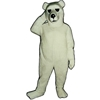 Alaskan Bear Mascot. This Alaskan Bear mascot comes complete with head, body, hand mitts and foot covers. This is a sale item. Manufactured from only the finest fabrics. Fully lined and padded where needed to give a sculptured effect. Comfortable to wear and easy to maintain. All mascots are custom made. Due to the fact that all mascots are made to order, all sales are final. Delivery will be 2-4 weeks. Rush ordering is available for an additional fee. Please call us toll free for more information. 1-877-218-1289