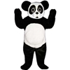 Baby Panda Mascot. This Baby Panda mascot comes complete with head, body, hand mitts and foot covers. This is a sale item. Manufactured from only the finest fabrics. Fully lined and padded where needed to give a sculptured effect. Comfortable to wear and easy to maintain. All mascots are custom made. Due to the fact that all mascots are made to order, all sales are final. Delivery will be 2-4 weeks. Rush ordering is available for an additional fee. Please call us toll free for more information. 1-877-218-1289