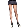Black Sheer Backseam Pantyhose - Adult