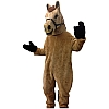 Brown Horse Mascot - Rental