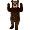 Buford Bear Mascot. This Buford Bear mascot comes complete with head, body, hand mitts and foot covers. This is a sale item. Manufactured from only the finest fabrics. Fully lined and padded where needed to give a sculptured effect. Comfortable to wear and easy to maintain. All mascots are custom made. Due to the fact that all mascots are made to order, all sales are final. Delivery will be 2-4 weeks. Rush ordering is available for an additional fee. Please call us toll free for more information. 1-877-218-1289